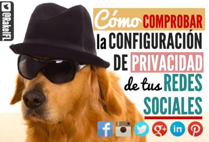 Aprende a configurar tu privacidad en las redes sociales (infografía)
